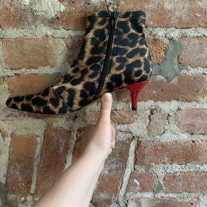 Betsy Johnson Kitten Heel Booties